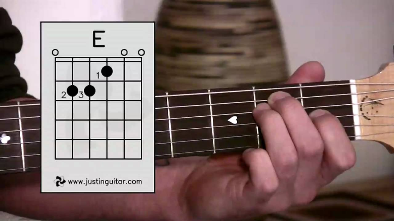 Bc 113 E E Chord Easy Third Guitar Chord Beginner
